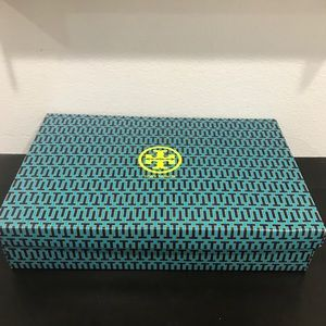 Authentic Tory Burch Empty Boot Shoe Box